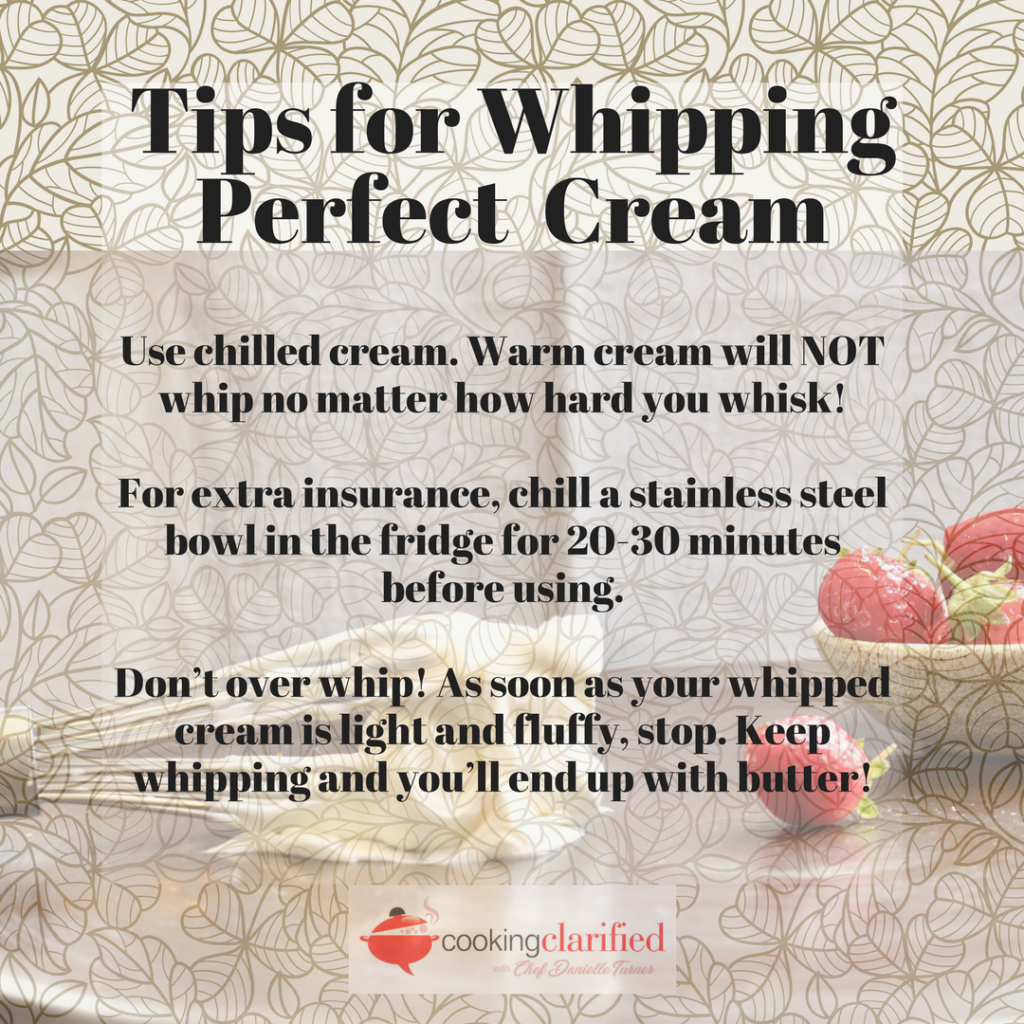 How to Whip Cream