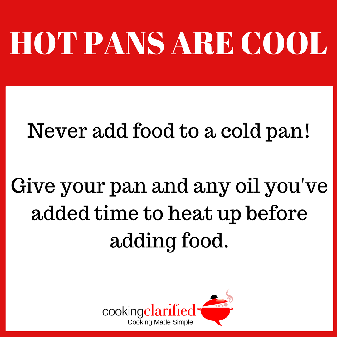 Hot Pans Are Cool