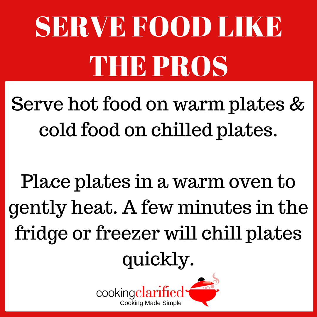 Serve Food Like the Pros