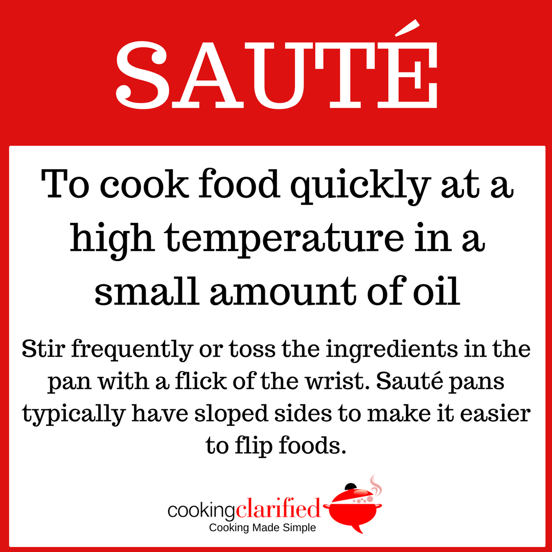 How to Sauté