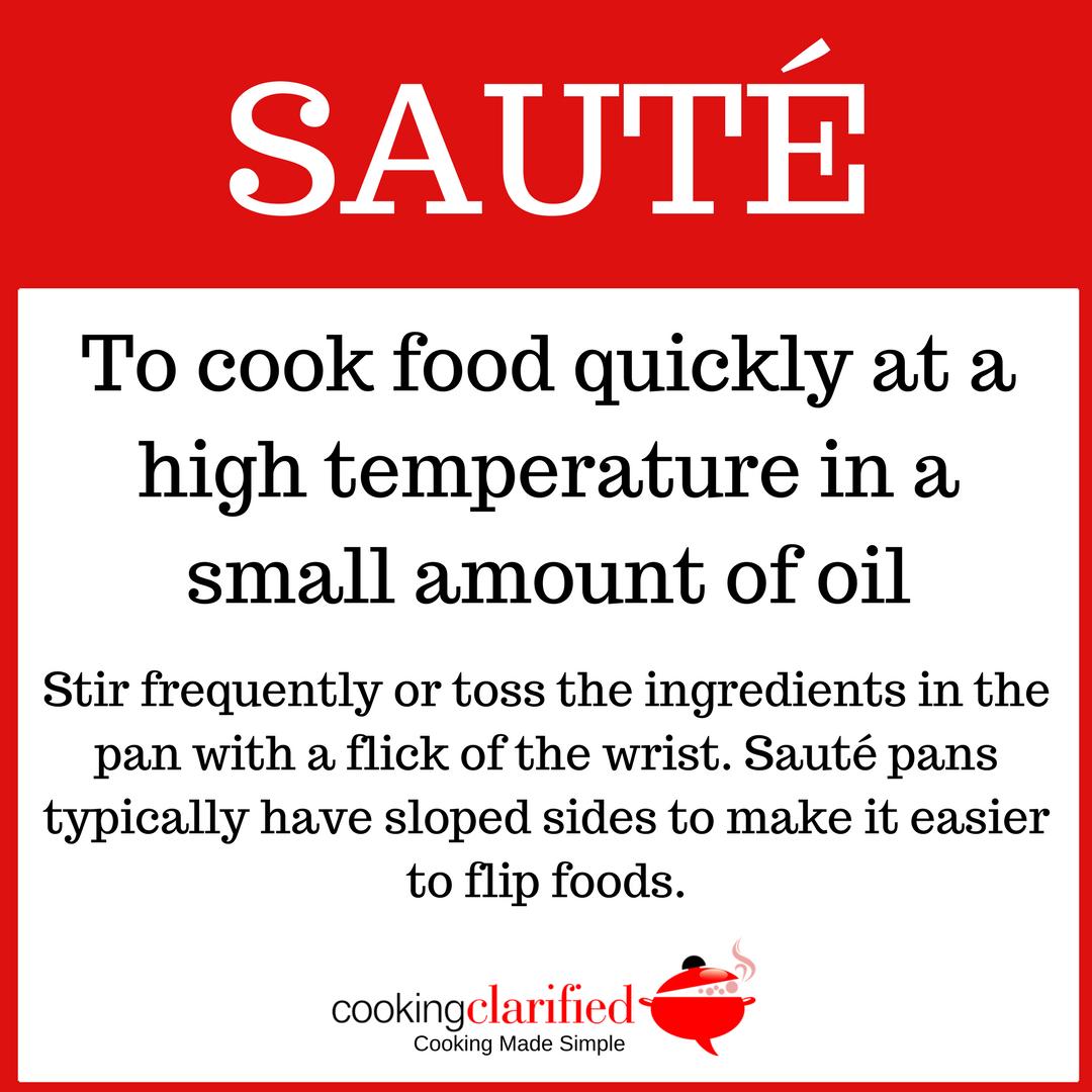 How to Sauté