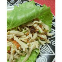 Chicken Salad with Carrots & Raisins