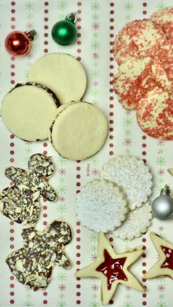 Sugar Cookies Four Ways