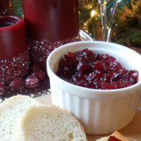 How to Make Cranberry Lime Compote