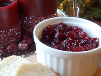 Cranberry Lime Compote
