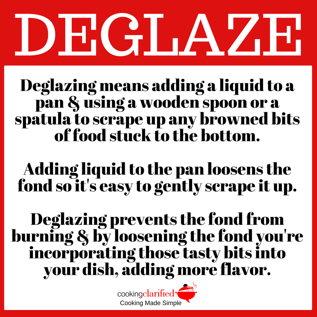How to Deglaze