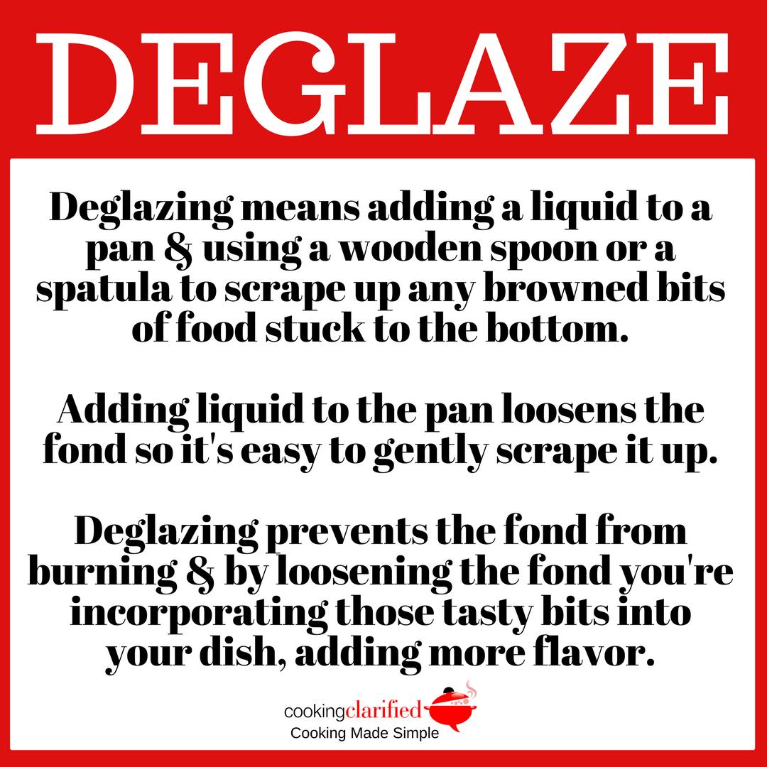 How to Deglaze