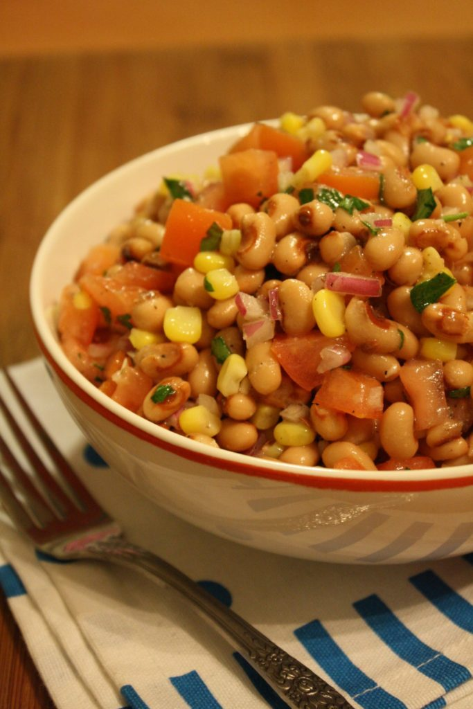 Foods That Make You Feel Good | Black Eyed Pea Salad