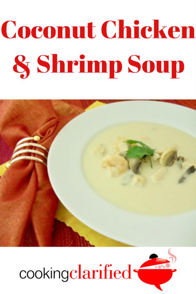 Coconut Chicken & Shrimp Soup