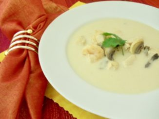 Coconut Chicken & Shrimp Soup