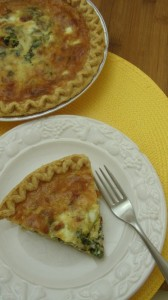 Quiche. Vs frittata