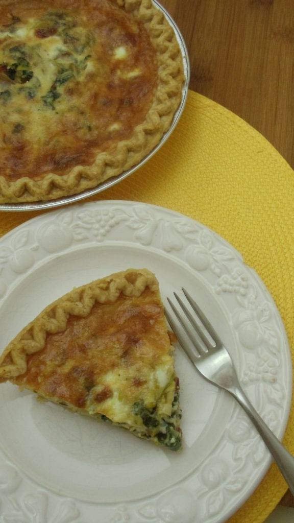 Quiche vs frittata