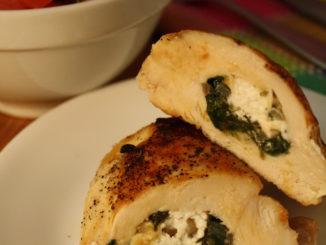 Stuff a chicken breast