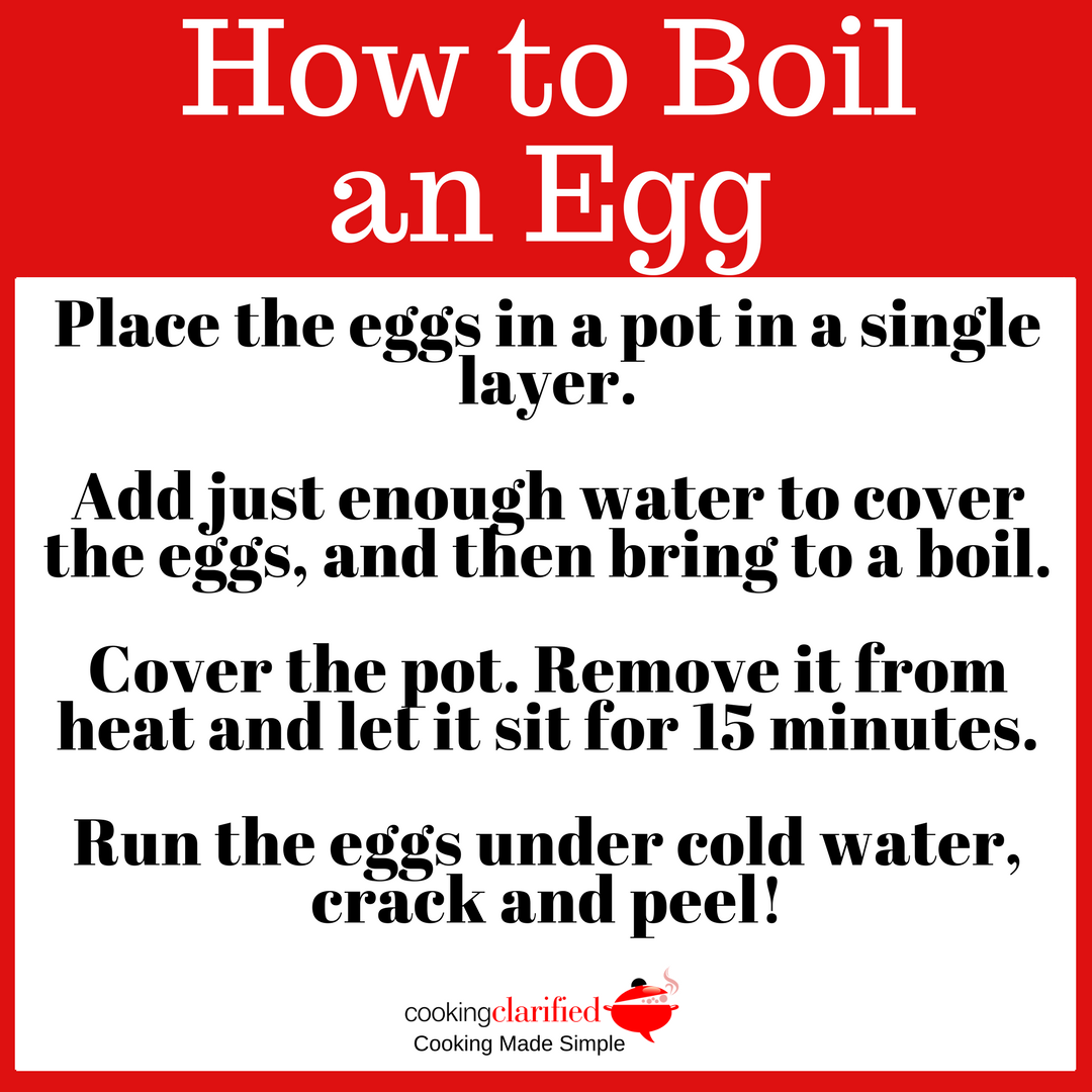 How To Boil an Egg – Cooking Clarified - photo#28