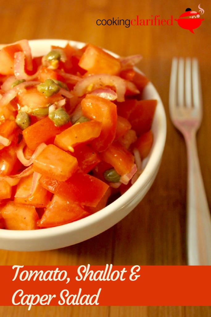 Tomato, Shallot & Caper Salad