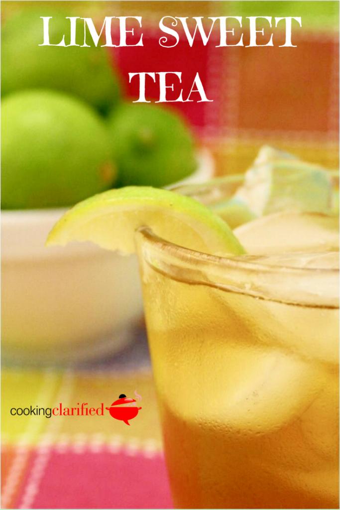 Lime Sweet Tea