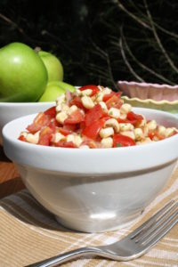Corn, Tomato Herb Salad