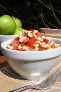 Corn, Tomato & Herb Salad