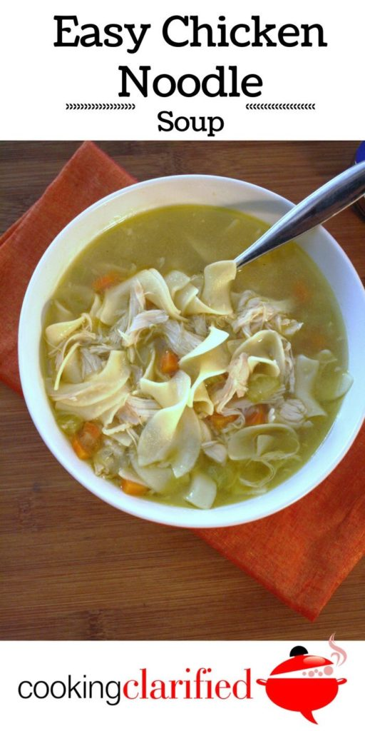 Every cook should have a Chicken Noodle Soup recipe in their back pocket. This recipe is just the thing you need. It's easy, delicious and it freezes beautifully.