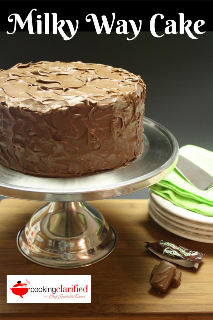 Milky Way Cake With Cake Mix