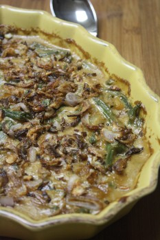 Green Bean & Caramelized Onion Casserole