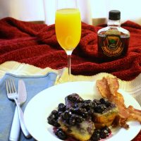 Valentine's Day Breakfast in Bed — How to Make Baked Blueberry French Toast