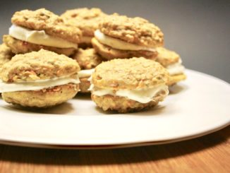 Carrot Cake Cookies with Cream Cheese Filling