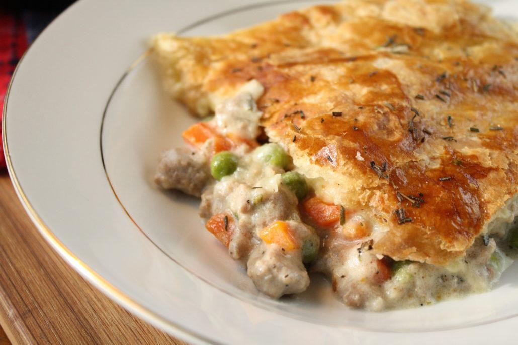Skillet Turkey Pot Pie