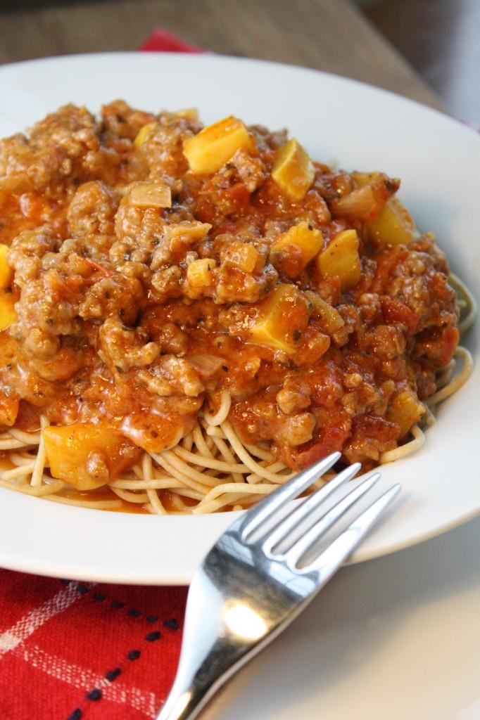 Spring Spaghetti Sauce