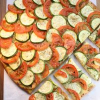 How to Choose, Store & Cook Zucchini — Zucchini & Tomato Flatbread