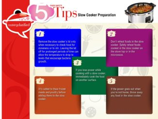 Slow cooker food safety tips
