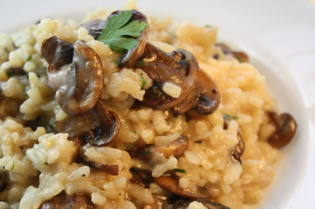 Three Tips for Perfect Risotto & Mushroom Camembert Risotto ...