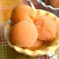 How to Make Sorbet — Peach Lemongrass Sorbet