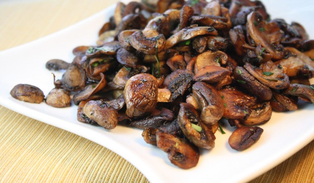 How to sauté mushrooms