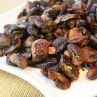 How to Clean & Sauté Mushrooms