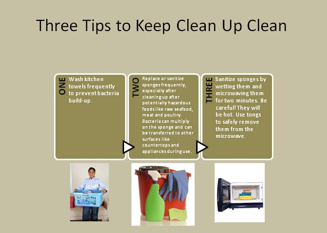 Three Tips to Keep Clean Up Clean