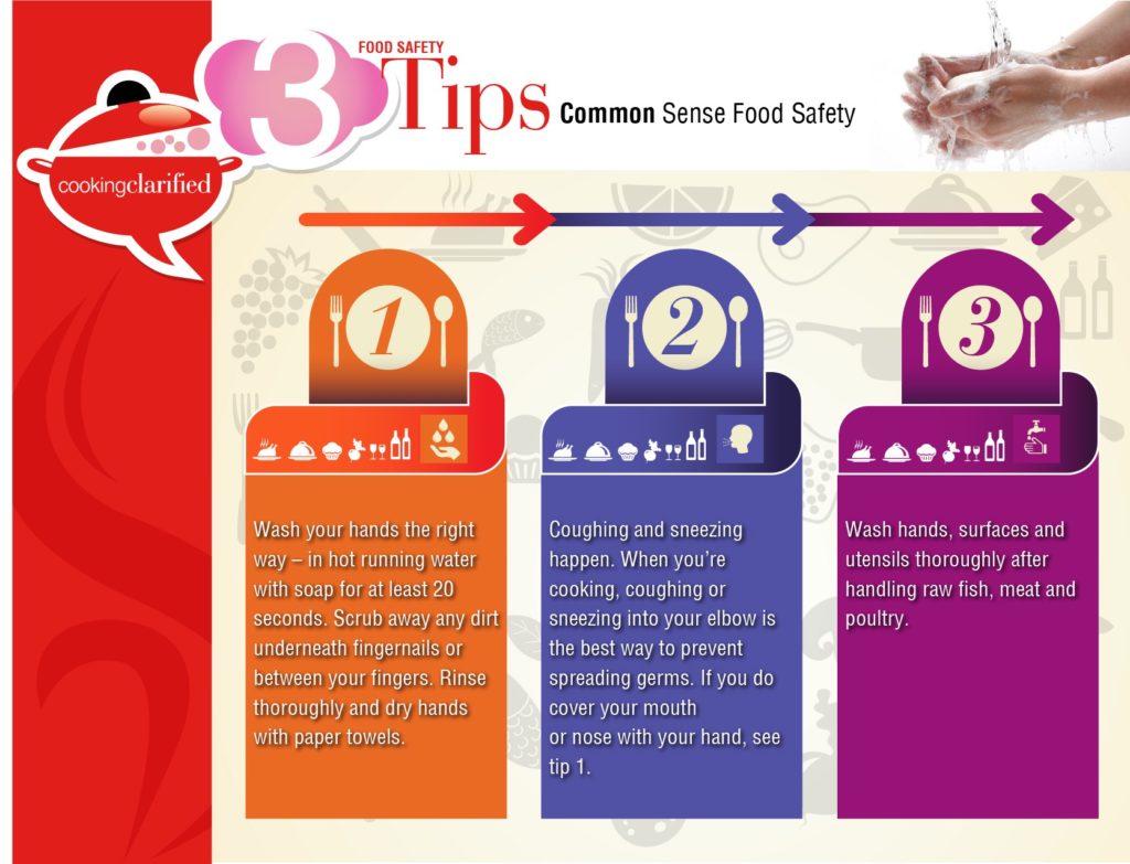 Common Sense Food Safety Tips