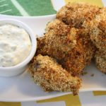Are You Ready For Some Football…Food? Crispy Ranch Chicken Wings