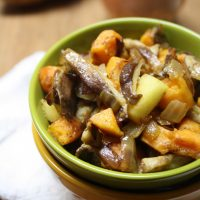 Sweet Potato Hash with Onion & Apple