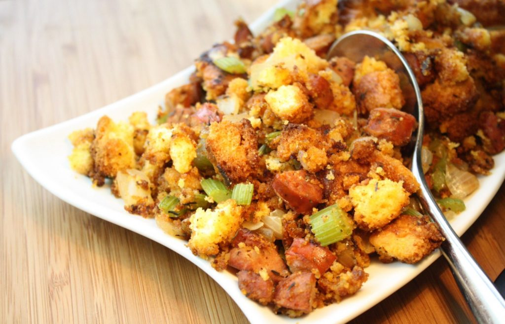 Cornbread & Chorizo Stovetop Stuffing
