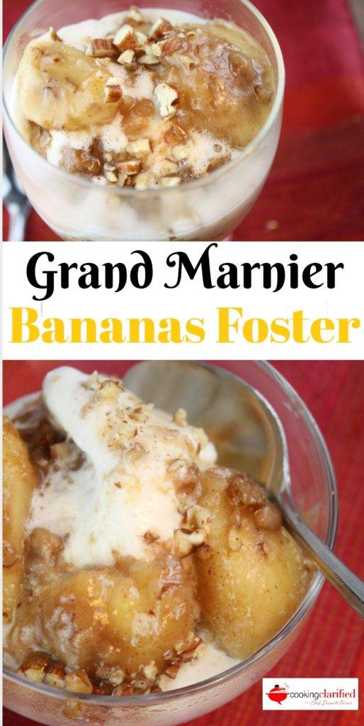 Grand Marnier Bananas Foster is a dangerous dessert. It is wildly delicious and so easy-peasy-lemon-squeezy you'll find yourself whipping it up every chance you get. The bananas you need to use before they go bad = Grand Marnier Bananas Foster. The last banana left over from the week's fruit smoothies = Grand Marnier Bananas Foster.