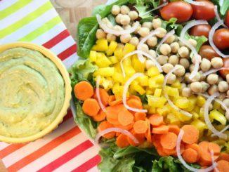 Colossal Veggie Salad