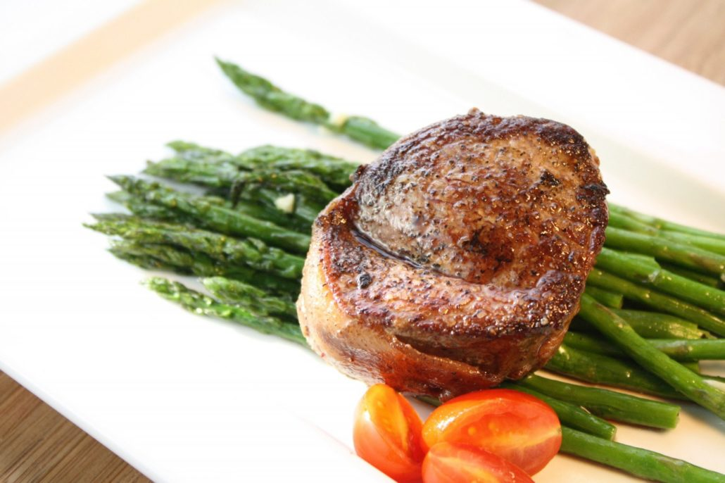 Baconwrapped Filet Mignon