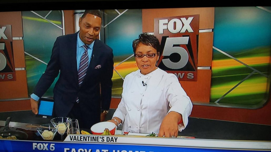 Chef Danielle on Fox 5's Good Day DC