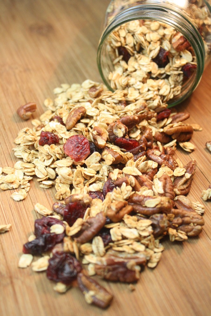 Honey Maple Pecan Granola