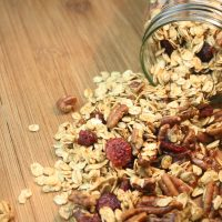 Homemade Granola – Honey Maple Pecan Granola