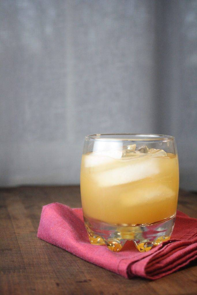 Apple Cider Rum Cocktail