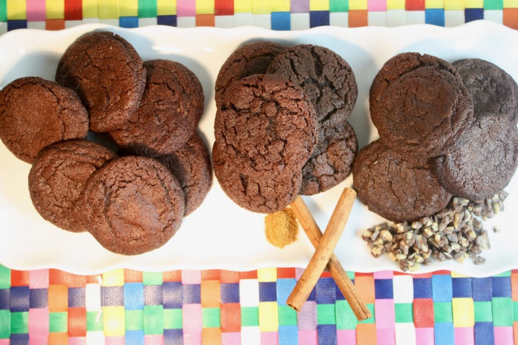 Rich Chocolate Cookies - Three Ways