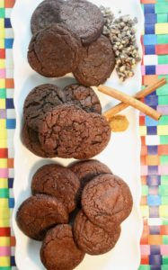 Flour 101 - Rich Chocolate Cookies - Three Ways