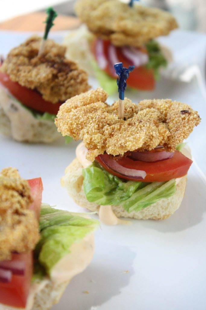 How To Pan Fry Mini Fried Oyster Po Boys Cooking